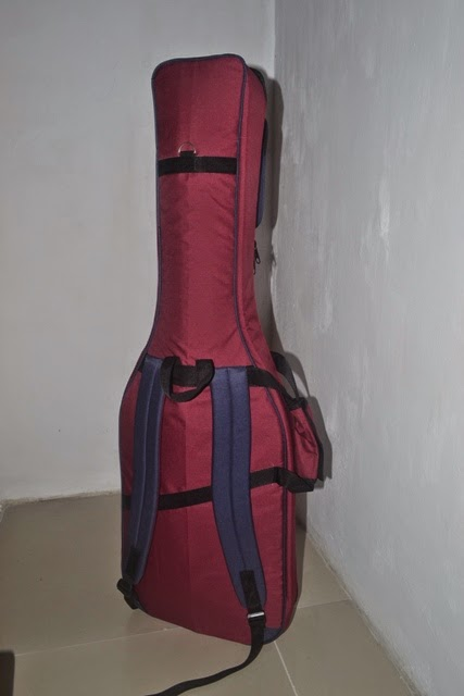 Softcase gitar elektrik custom ransel