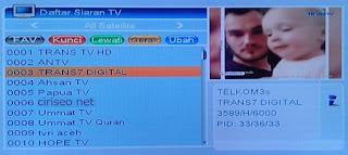 Frekuensi Trans TV