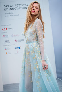 Source/credit: GREAT Festival of  Innovation. A live fashion showcase  displayed the latest wearable technology.
