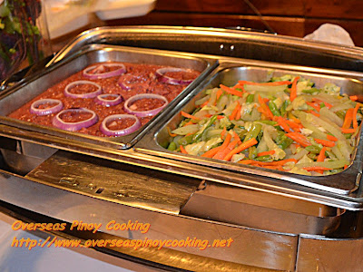 Breakfast Buffet - Cornbeef and Vegetables