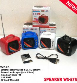 Speaker Model TV WS 757