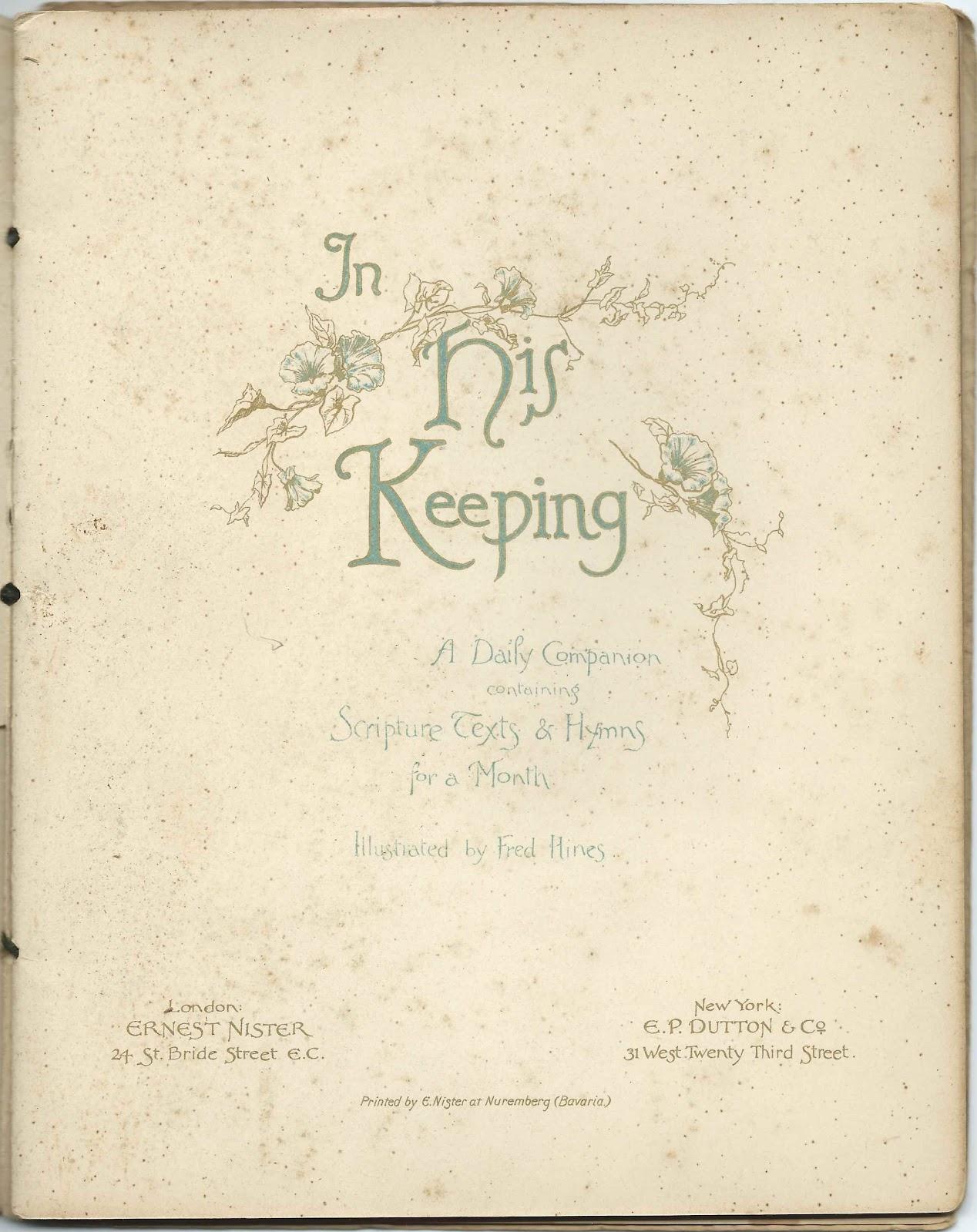 heirlooms reunited book  quot in his keeping quot  that belonged to sarah homer linkedin sarah homersham