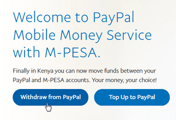 withdraw from paypal