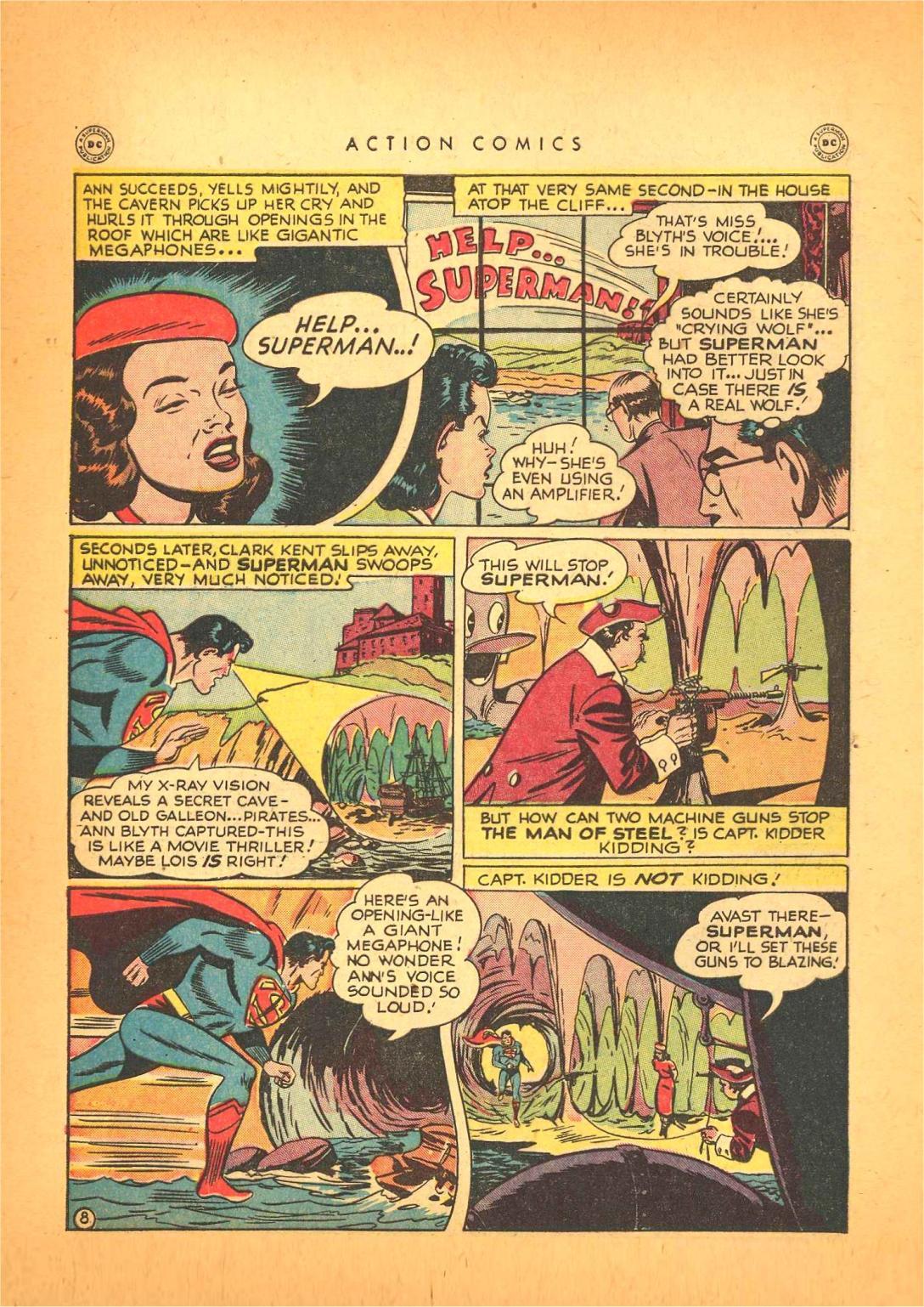 Action Comics (1938) 130 Page 8