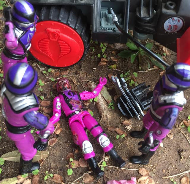 1987 Techno Viper, 1986 Cobra Stun, 2017 Black Major Factory Custom Techno Trooper, Bootleg, Total Madness Custom Zombie Trooper