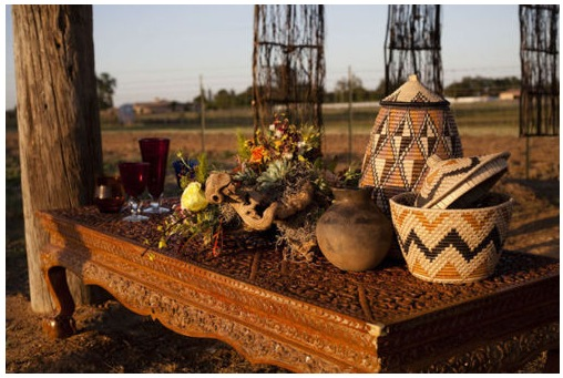 S U G A R A N D A R T: African Wedding Decor