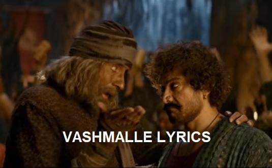 Vashmalle Song Lyrics - Thugs of Hindostan - Aamir Khan | Amitabh Bachchan