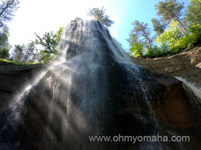 Smith Falls in Nebraska. Image courtesy of Oh My Omaha.