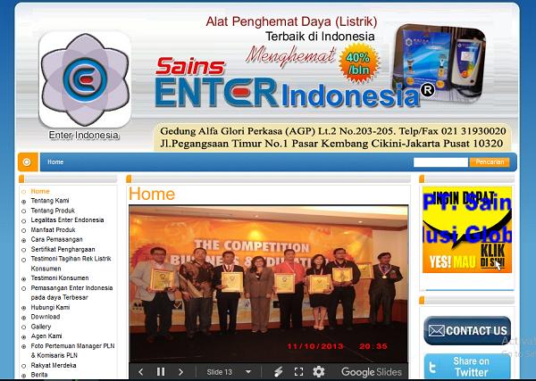 Website Hemat Daya Listrik,Cikini Jakarta Pusat