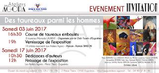 https://ateliersagora.blogspot.com/2017/06/finissage-expo-des-taureaux-et-des.html