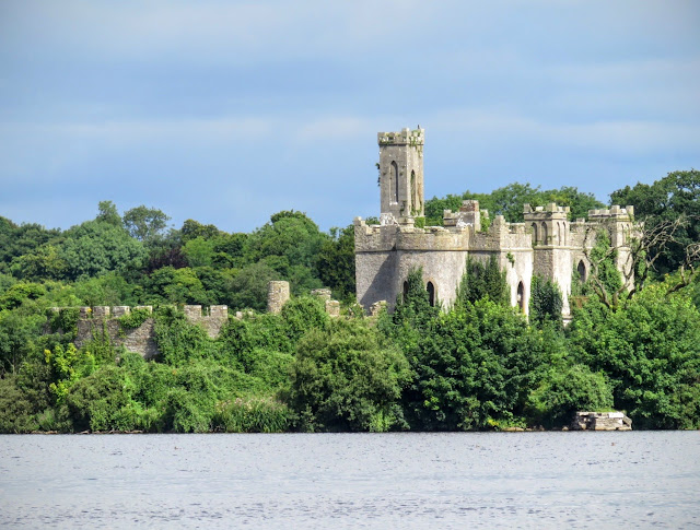 Castle at Lough Key in County Roscommon, Ireland