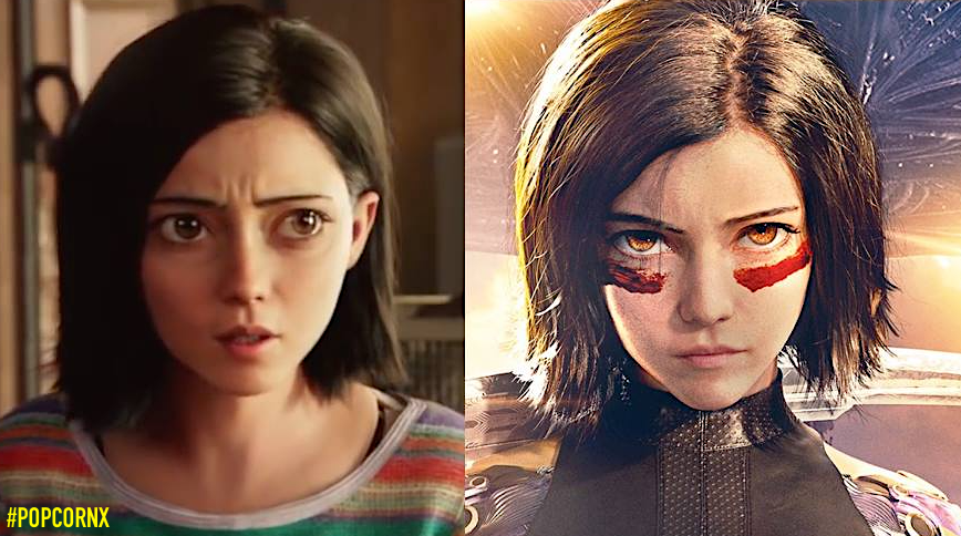 New Poster For Alita Battle Angel Featuring Smaller Eyes