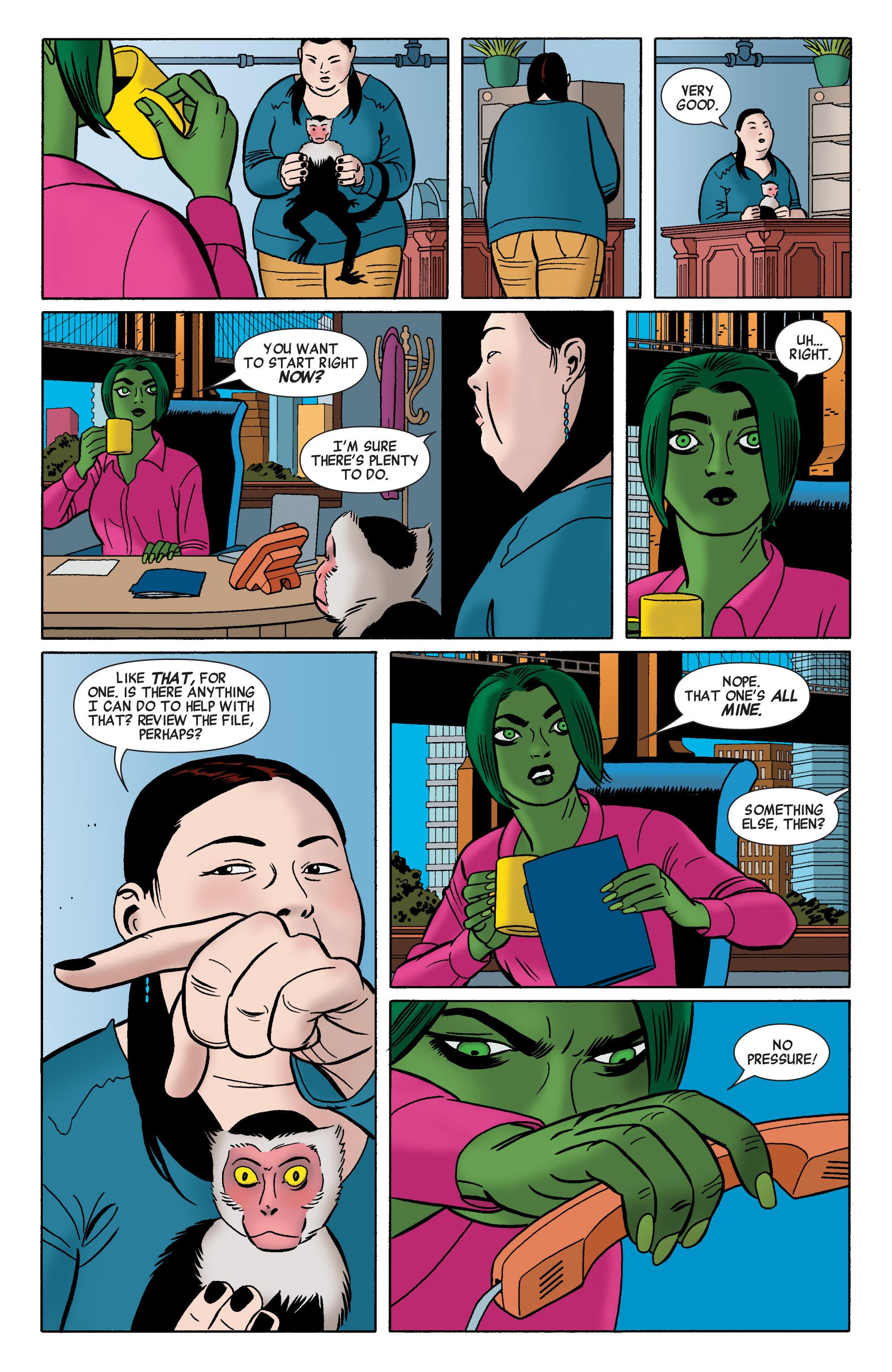 Read online She-Hulk (2014) comic -  Issue #2 - 8