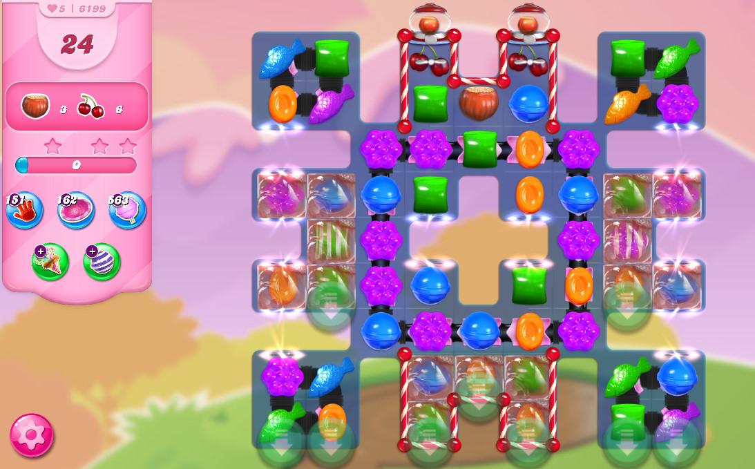 Candy Crush Saga level 6199