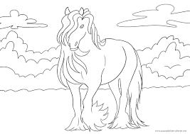 malvorlagen kostenlos ausdrucken pferde | kinder ausmalbilder