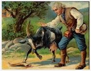 Dongeng Gembala dan Kambing yang Tanduknya Patah (Aesop) | DONGENG ANAK DUNIA