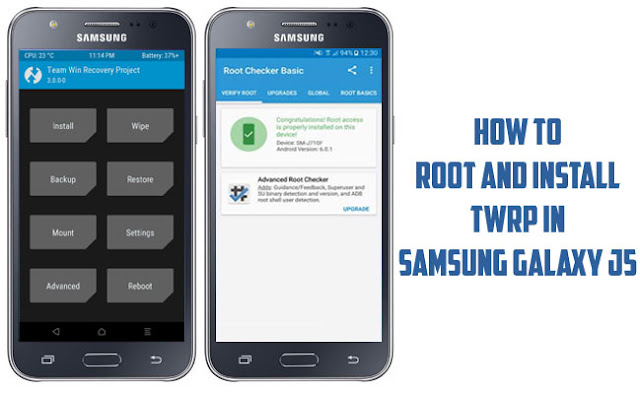 How to Root and Install TWRP in Samsung Galaxy J5