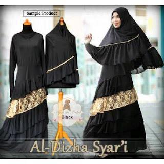 AL-DIZHA SYARI Baju Gamis Murah