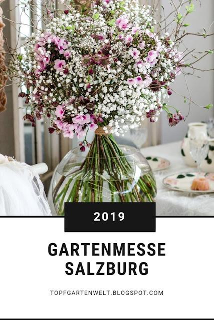 Ein Besuch auf der Gartenmesse Salzburg lohnt sich. Neben Pflanzen und Tipps zur Gartengestaltung gibt es auch viel gutes Essen. Dieser Beitrag enthält Werbung. #topfgartenwelt #gartenmesse
