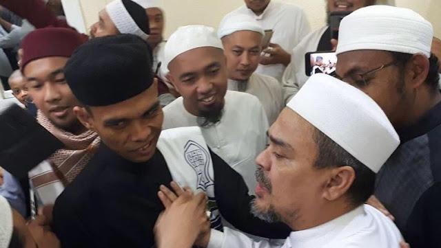 Ketika Habib Rizieq dan Ustaz Somad Muncul di Survei Capres