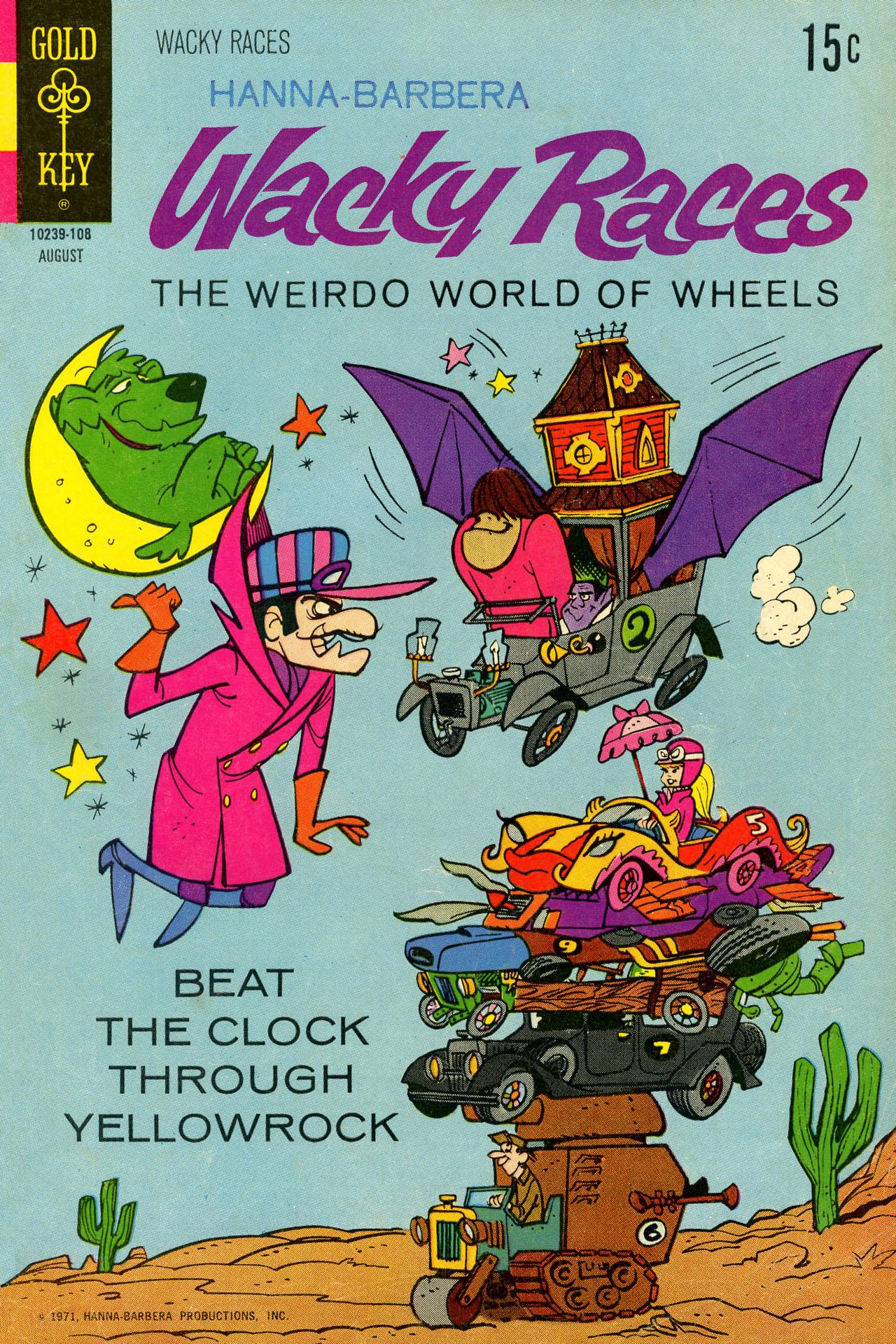 Hanna-Barbera Wacky Races 4 Page 1