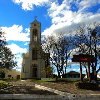Praça São José e Igreja Matriz, Cambará do Sul