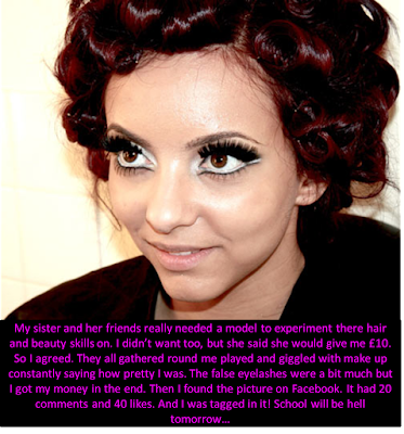 Makeup model Sissy TG Caption - Candi's Place - Crossdressing and Sissy Tales and Captioned images