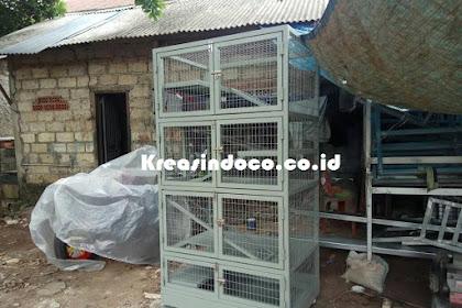 Pesanan Bpk Sarjono Kandang Kucing Besi Di BSD Tangerang