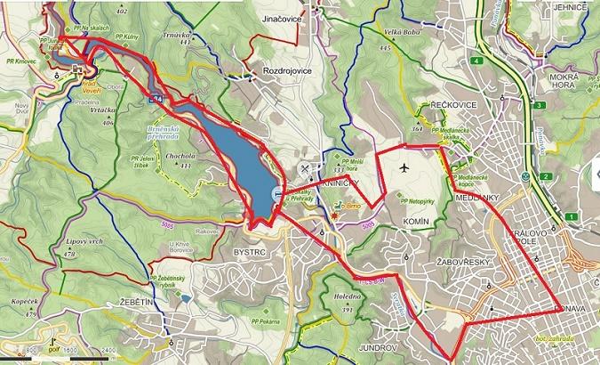 kolo, cyklistika, vylet, cyklotrasa, Brno, prehrada,trip, cyklo