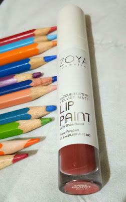Must Have Item : Lip Paint Deep Claret Zoya Cosmetics