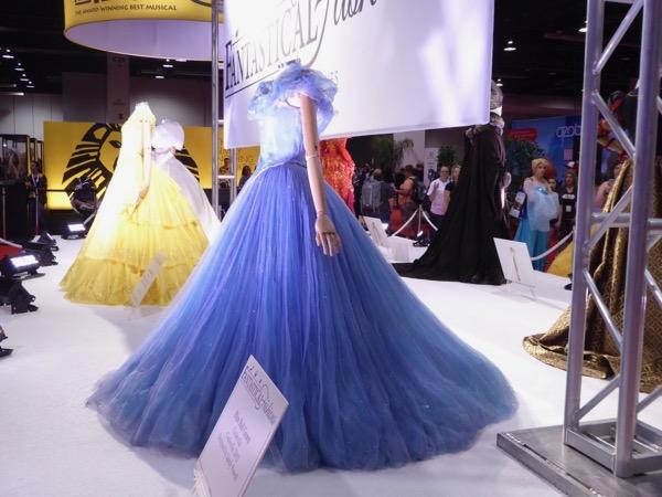 Cinderella blue ballgown