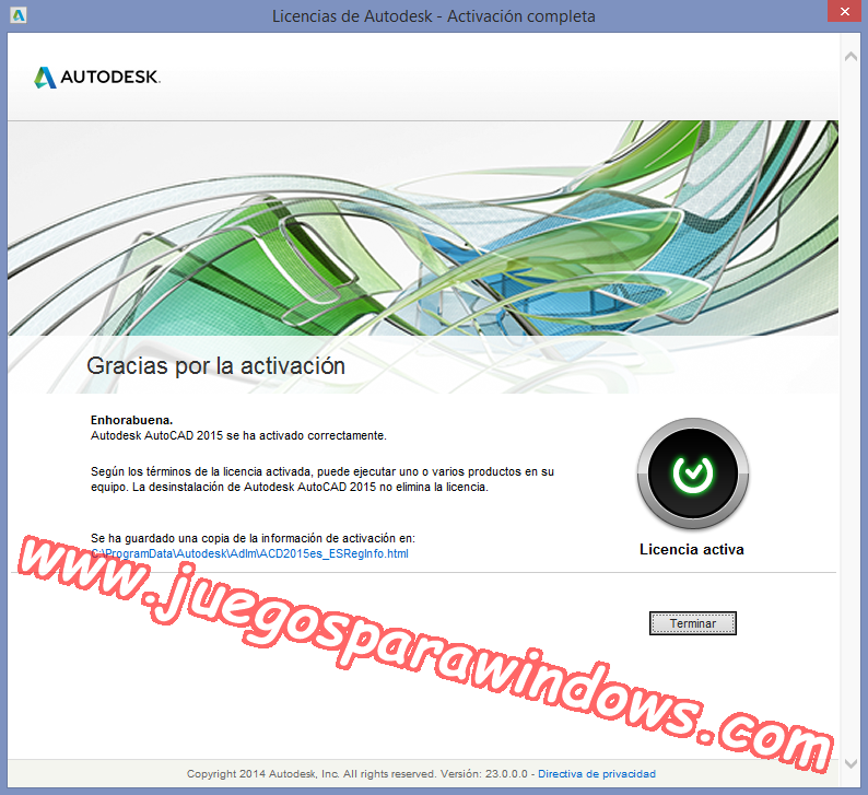 AutoCAD 2015 Full PC ESPAÑOL INGLES 32 y 64 Bits (XFORCE) 11