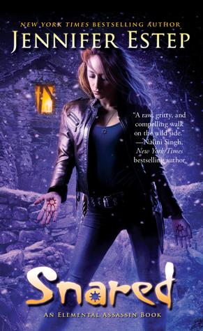 Snared, Jennifer Estep, urban fantasy, Bea's Book Nook