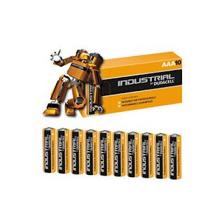 batterie duracell ministilo industriali