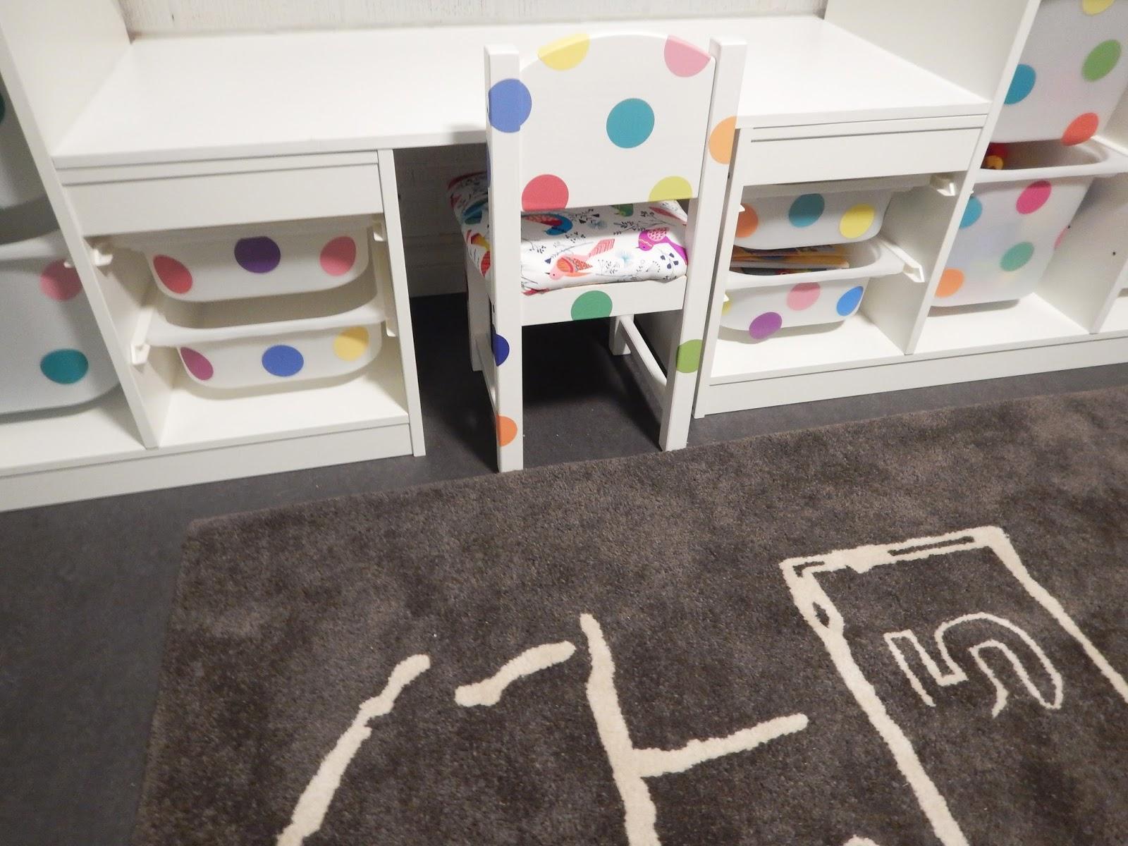 Ikea Hack Trofast Storage System Sundvik Chair Ribba Picture Ledge Dream Desk