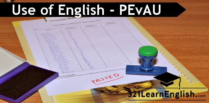 Use of English - Selectividad - PEvAU - PAU - Andalucía - Fill in the gaps with the correct verb form - www.321LearnEnglish.com