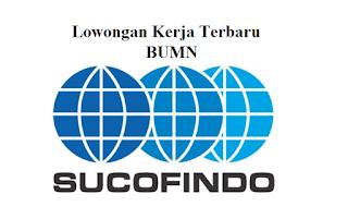 Lowongan Kerja Terbaru BUMN PT Sucofindo (Persero)