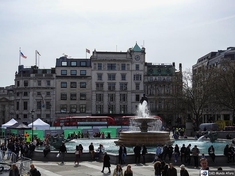 Trafalgar Square - O que fazer em Londres: 48 atrações imperdíveis