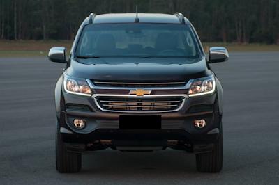 Eksterior Chevrolet Trailblazer Facelift Tampak Depan