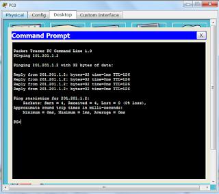 Cara Konfigurasi IP Route Menggunakan Cisco Packet Tracer
