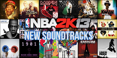 New Soundtracks for NBA 2K13 2K Beats