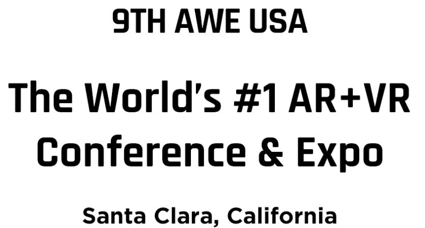 Find me at AWE 2018