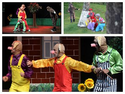 Espetáculos teatrais divertem a criançada no Ciranda Café
