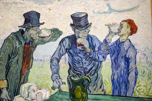 Van Gogh, Bebedores - Art Institutte, Chicago por El Guisante Verde Project