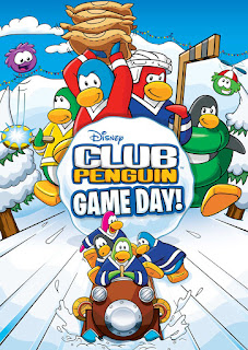 Club Penguin: Game day cover