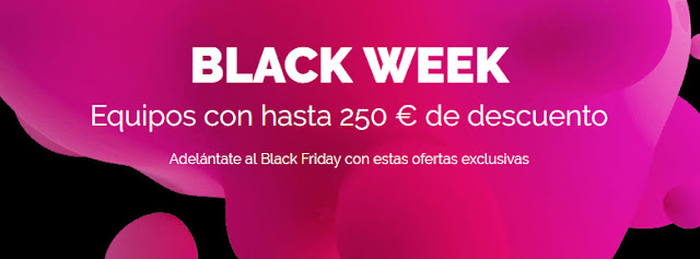 Top 5 ofertas promoción Black Week de la HP Store