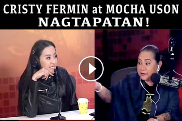 WATCH: Tapatan nina Mocha Uson at Cristy Fermin