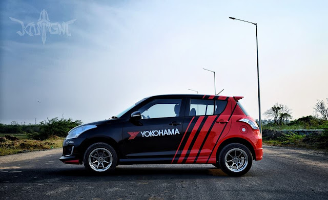 Yokohama Swift wrap