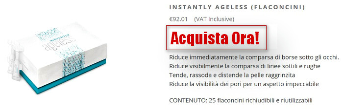 cosa contiene instantly ageless