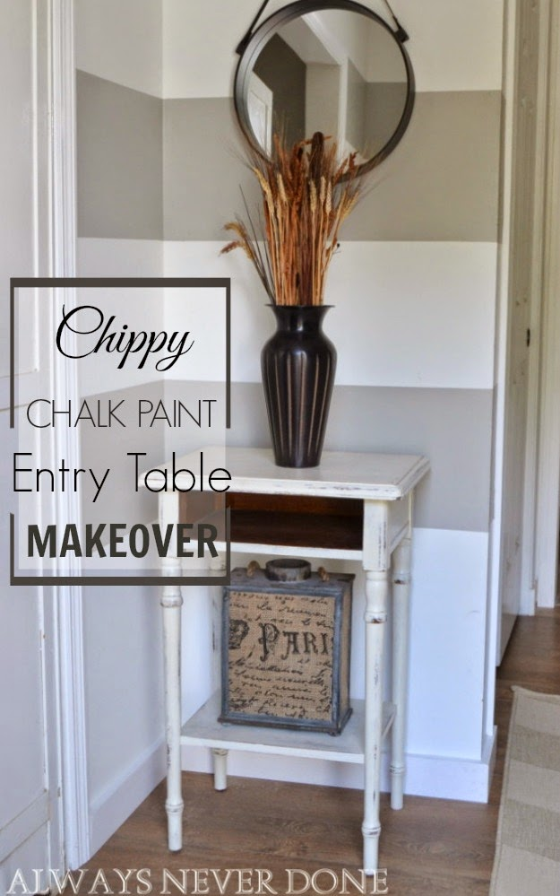 Chalk-Paint-Entry-Table
